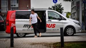 Duisburg lässt die Minibusse rollen