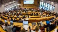 Eine Vorlesung an der Technischen Universität in Ilmenau (Thüringen)