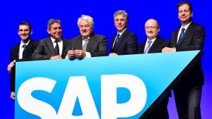 SAP-Aktienkurs legt mehr als 4 Prozent zu