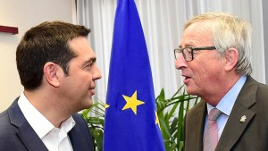 Tsipras und Juncker sprechen wieder miteinander