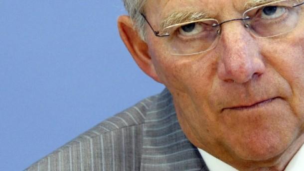 Schäuble allein mit der Telekom
