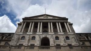 Bank of England wehrt sich gegen den Brexit-Absturz
