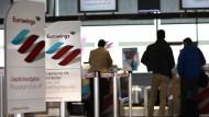 Flugbegleiter streiken Donnerstag