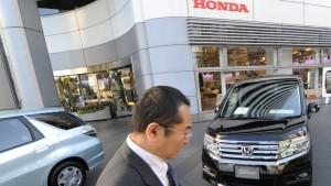 Streit mit China droht Hondas Gewinn zu schmälern
