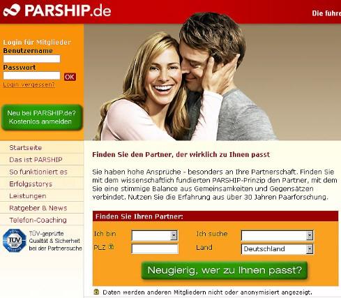 Parship online kündigen