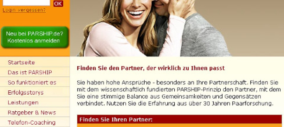 Text partnervermittlung