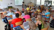 Merkel: Mehr Informatik in der Schule wagen