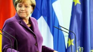 82 Prozent halten Merkels Rettungspolitik für falsch
