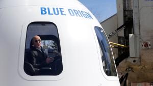 Jeff Bezos eifert Elon Musk nach