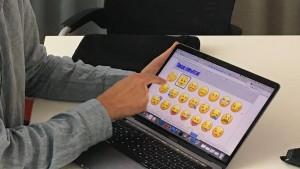 Zu Besuch beim Emoji-Mann