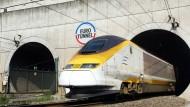 Verdienen am Eurotunnel