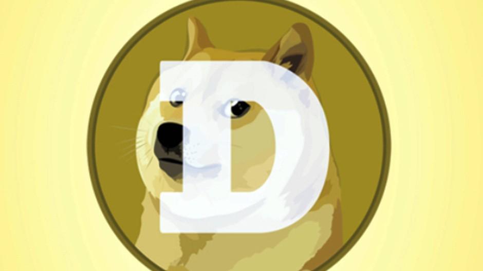 Warum so skeptisch? Das Dogecoin-Logo mit einem Shiba-Inu