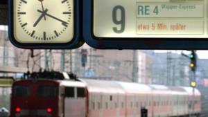 Lokführer planen Warnstreiks nach Ostern
