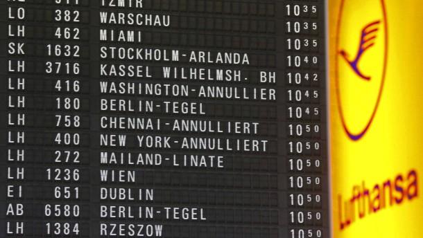 Lufthansa streicht zwei Drittel der Flüge