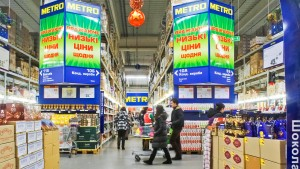 Metro schließt Großmärkte auf der Krim