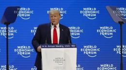 Trump lobt eigene Wirtschaftspolitik