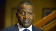 Er gilt als der reichste Afrikaner: Der Nigerianer Aliko Dangote