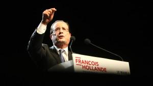Hollande für 75 Prozent Spitzensteuersatz