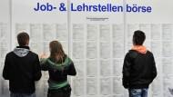 Die Jugendarbeitslosigkeit in Europa nimmt immer größere Ausmaße an.