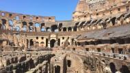 Kolosseum in Rom: Die letzte große Ratingagentur überlegt, Italiens Rating zu senken.