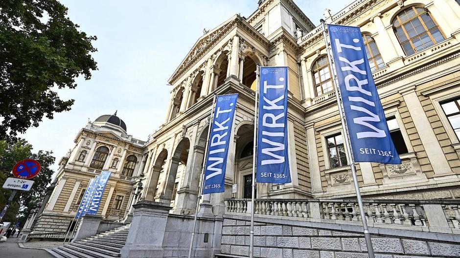 Sehen Studenten derzeit selten von innen: Universität Wien