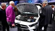 Kritik kam auf der Hauptversammlung von den Daimler-Aktionären.