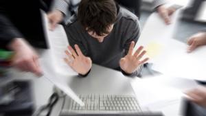 Chefs neigen zu Burnout und Depression