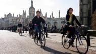 Wohin des Weges? Das internationale Publikum ist eine Stärke britischer Unis, nicht nur in Cambridge. Aber ob das so bleibt, ist offen.