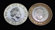 Die Queen altert - auch auf den Münzen