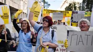 Streiks legen Verkehr in Athen lahm