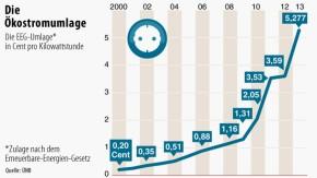 Infografik / Die Ökostromzulage