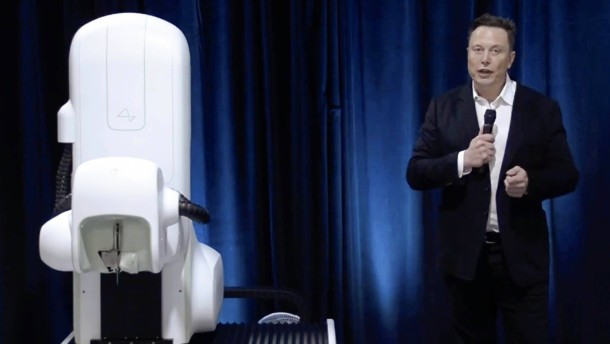 Elon Musk präsentiert Neuro-Chip für den Kopf
