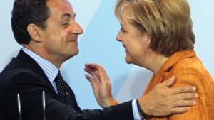 """Merkel und Sarkozy kritisieren """"Mangel an Transparenz"""""""