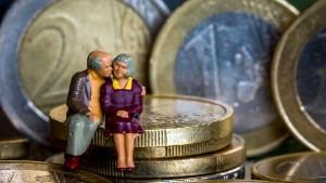 Rentenansprüche verdoppeln das Vermögen der Deutschen
