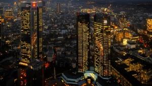 Gewinn der Deutschen Bank sinkt