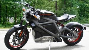 Eine Harley ohne Benzindröhnung