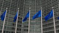 """Sinnbild für """"Brüssel"""": Am Sitz der EU-Kommission laufen viele Fäden in Europa zusammen."""