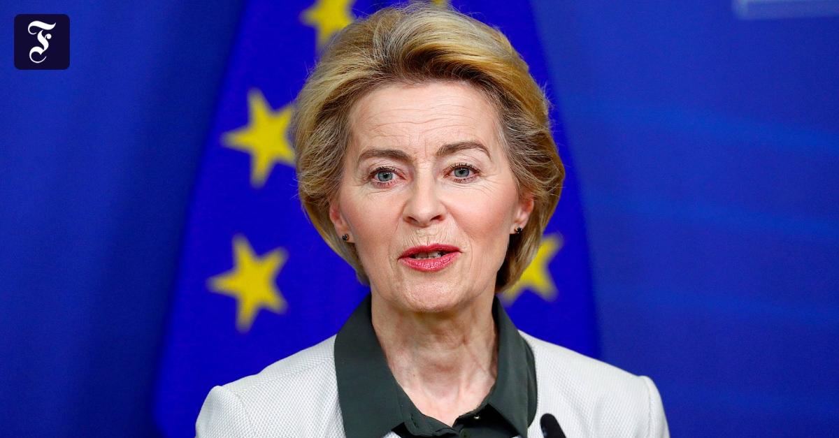 """""""Green Deal"""" der EU: So sieht von der Leyens Fahrplan zur Klimaneutralität aus"""