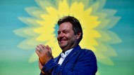 In der Sozialleistungs-Sonne: Grünen-Parteichef Robert Habeck.