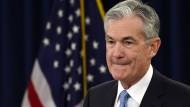 Jerome Powell ist der Präsident der amerikanischen Notenbank.