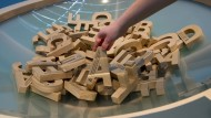 Von A bis Z ist alles drin in der Buchstabensuppe.