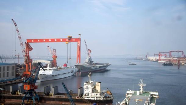 Chinesische Hafenstadt plant Flughafen auf künstlicher Insel