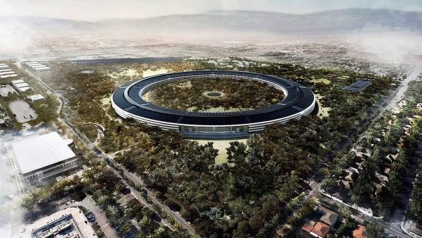 Apple bezieht besonders viel Strom aus erneuerbaren Energien