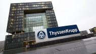 Der Sitz des Traditionskonzerns: Die Thyssen-Krupp-Zentrale in Essen
