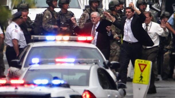 Polizei identifiziert Schützen als Marine-Reservisten