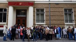 Bulgarien hofft auf ausländische Hilfe bei Rettung der Corpbank