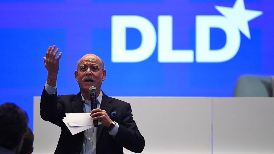 Jeremy Rifkin auf der DLD in München.