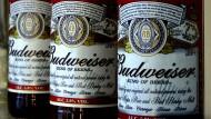 Gibt's in Delhi jetzt nicht mehr: Budweiser