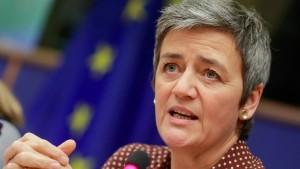 Vier große EU-Staaten gegen Vestager