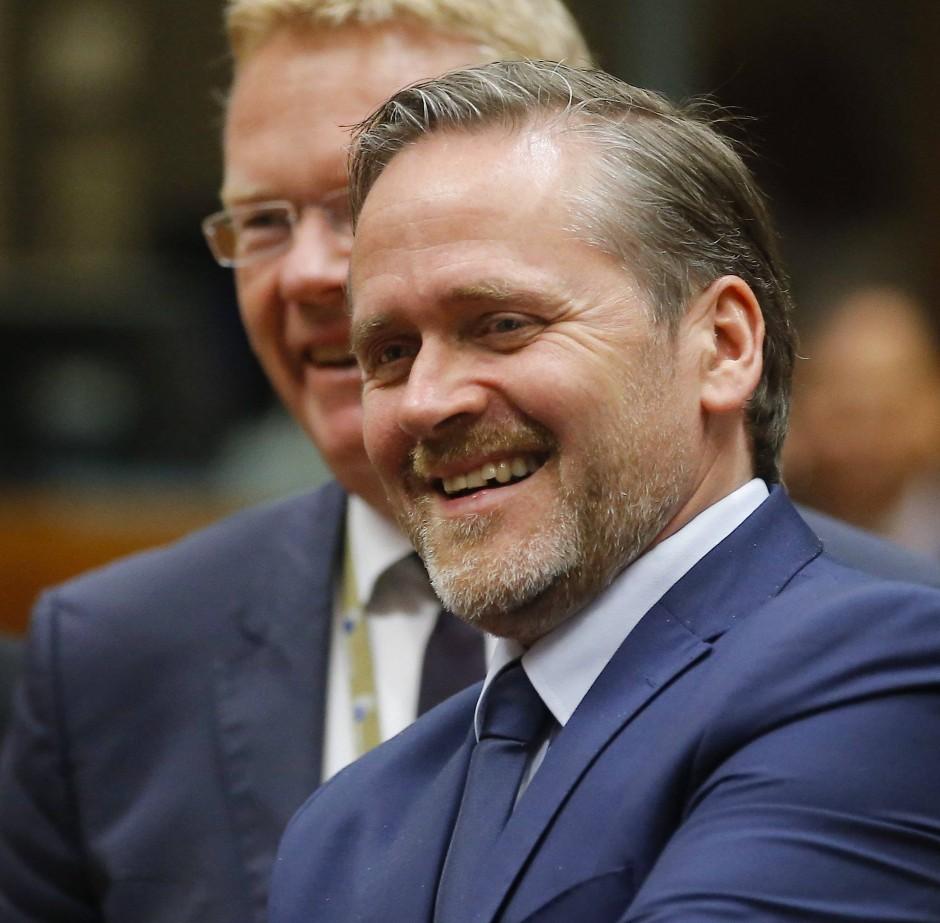 Nein, er wird es nicht, von ihm kommt nur die Idee: Dänemarks Außenminister Anders Samuelsen